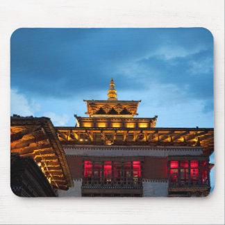 Tapis De Souris Toit bouddhiste de Dzong