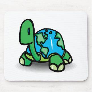Tapis De Souris tortue de jour de la terre