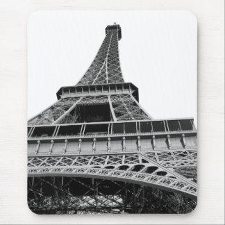 Tapis De Souris Tour Eiffel noir et blanc
