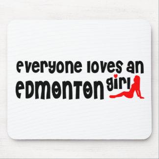 Tapis De Souris Tout le monde aime une fille d'Edmonton