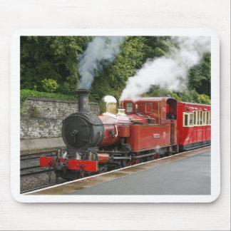 Tapis De Souris Train de vapeur à l'île de Man de Douglas