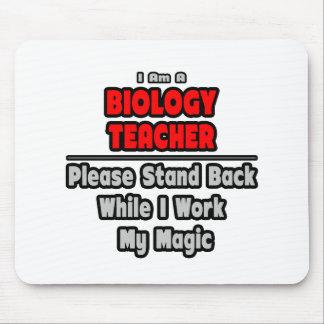 Tapis De Souris Travail de professeur de biologie… ma magie