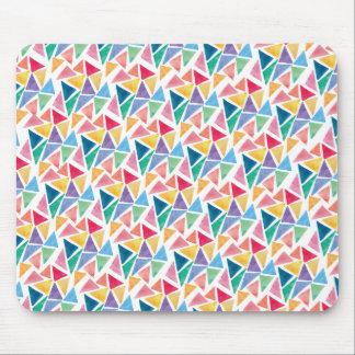 Tapis De Souris Triangle colorée moderne