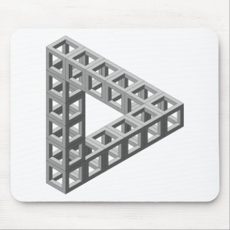 Tapis De Souris Triangle impossible d'illusion optique