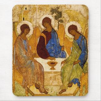 Tapis De Souris Trinité de Rublev au Tableau