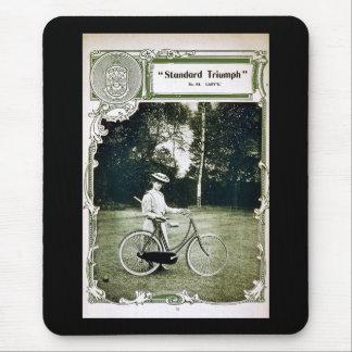 Tapis De Souris Triumph fait un cycle no. 1907 de Standard de