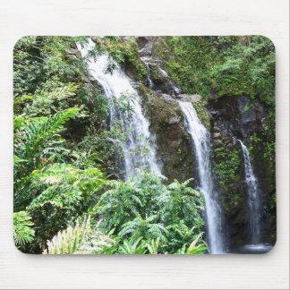 Tapis De Souris Trois cascades hawaïennes Mousepad
