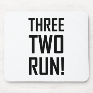 Tapis De Souris Trois deux courus