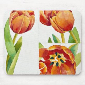 Tapis De Souris Trois études de tulipe dans un 2013 sûr