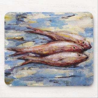 Tapis De Souris Trois poissons