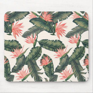 tapis de souris tropical vintage de vsco hawaïen