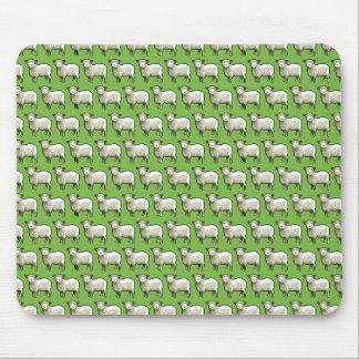 Tapis De Souris Troupeau d'art de pixel de motif de moutons