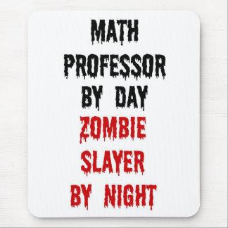 Tapis De Souris Tueur de professeur de maths zombi