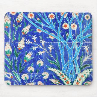 Tapis De Souris Tuiles florales turques
