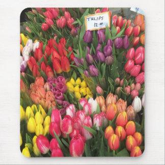 Tapis De Souris Tulipes à vendre le marché d'agriculteurs de