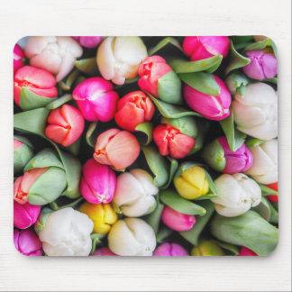 Tapis De Souris Tulipes fraîchement sélectionnées