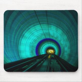 Tapis De Souris Tunnel de chemin de fer bleu, Singapour