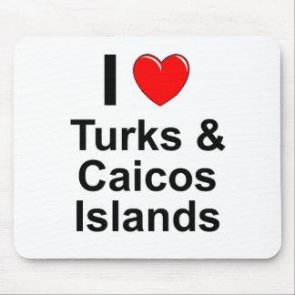 Tapis De Souris Turcs et îles de la Caïques