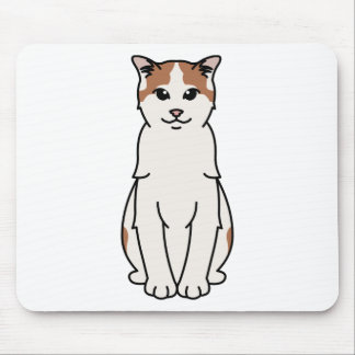 Tapis De Souris Turkish Van Cat Cartoon