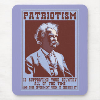 Tapis De Souris Twain - patriotisme