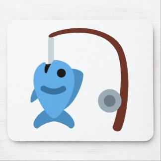 Tapis De Souris Twitter emoji - Fishing