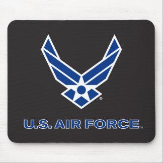 Tapis De Souris U.S. Logo de l'Armée de l'Air - bleu