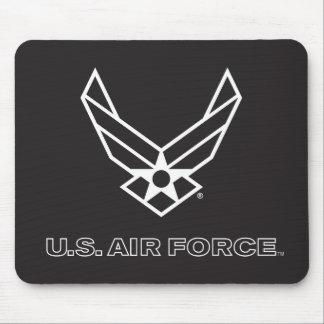 Tapis De Souris U.S. Logo de l'Armée de l'Air - noir