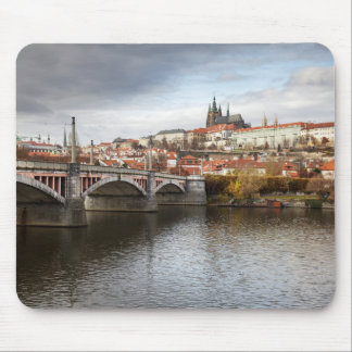 Tapis De Souris Un jour orageux en photo de souvenir de Prague