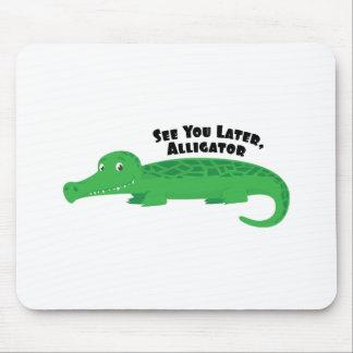 Tapis De Souris Un plus défunt alligator