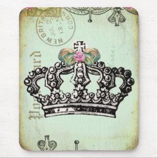 Tapis De Souris une couronne royale adaptée pour une reine