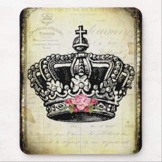 Tapis De Souris une couronne vintage