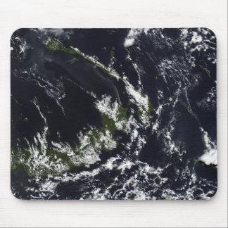 Tapis De Souris Une plume volcanique de la caldeira de Rabaul