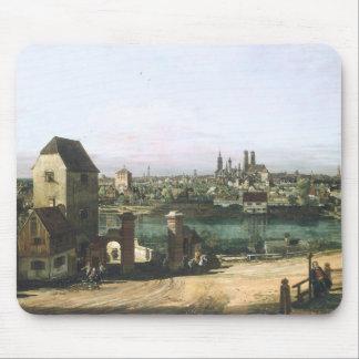 Tapis De Souris Une vue de la ville allemande Munich par B.