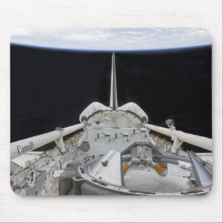 Tapis De Souris Une vue partielle de navette spatiale