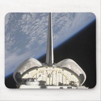 Tapis De Souris Une vue partielle d'effort de navette spatiale