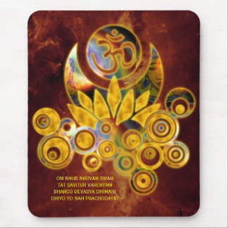 Tapis De Souris Univers de l'INCANTATION | de l'OM Lotus et du
