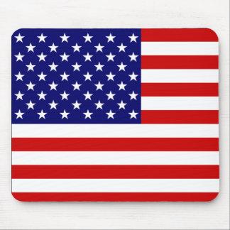Tapis de souris USA Flag