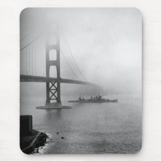 Tapis De Souris USS vintage San Francisco golden gate bridge