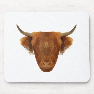 Tapis De Souris Vache des montagnes écossaise à animal de l'Ecosse