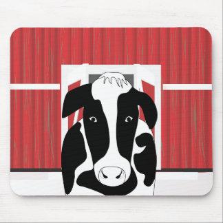 Tapis De Souris Vache drôle Mousepad
