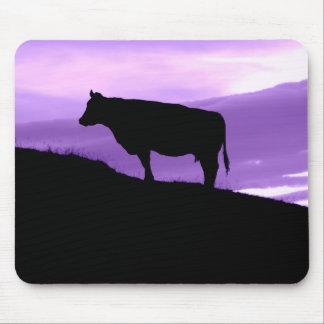 Tapis De Souris Vache pourpre