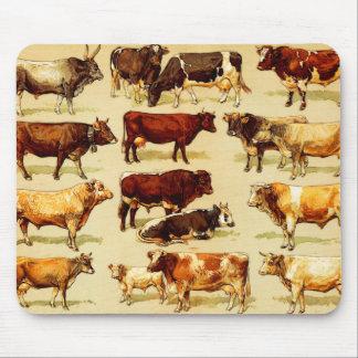 Tapis De Souris vaches
