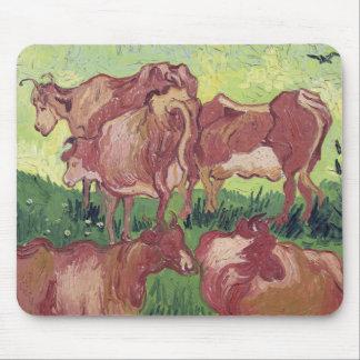 Tapis De Souris Vaches à Vincent van Gogh |, 1890