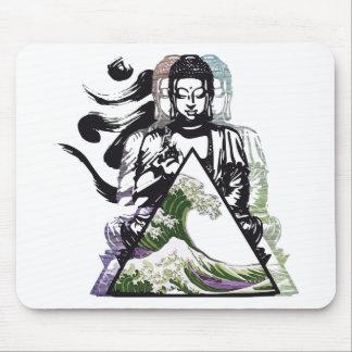 Tapis De Souris vague 2 de Bouddha