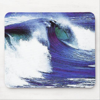 Tapis De Souris Vague bleue