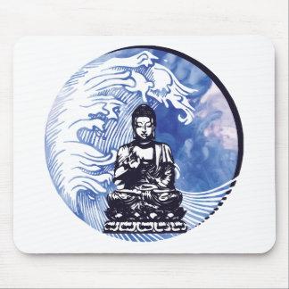 Tapis De Souris Vague d'eau profonde de Bouddha