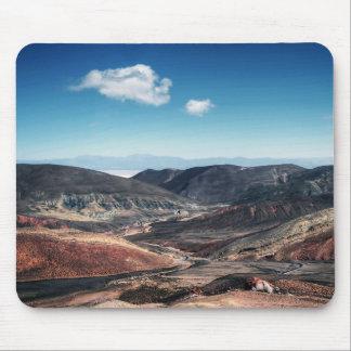 Tapis De Souris Vallées colorées de montagne autour des