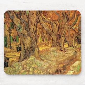 Tapis De Souris Van Gogh les raccomodeurs de route, beaux-arts
