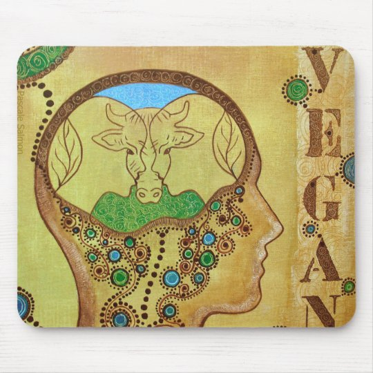 Tapis De Souris Vegan connection