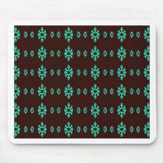 Tapis De Souris Vert au néon moderne sur le motif noir